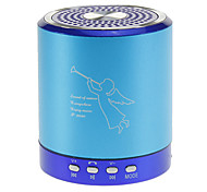 Portable Music Speaker with Mic,TF Supported(Blue)