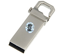 8G Metall Material Portable USB-Flash-Laufwerk