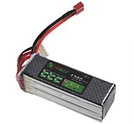 LION 22.2V 1300mAh 30C Li-Po Battery per RC (T Plug)