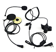 Two Way Radio Motorcycle Helmet Headset For Kenwood Walkie Talkie Two Way Cb Ham Radio