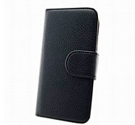 Luxury PU Leather Flip Case Cover with Card Slot And Stand for Samsung i8552 Galaxy Win