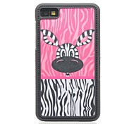 Zebra-Stripe Drawing Pattern Hard Case for Blackberry