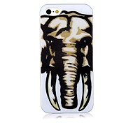 Elephant Pattern Back Case for iPhone 5/5S