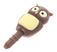 Owl Shape 3.5mm Earphone Anti-Dust Plug Universal for Cell Phones and Tabs