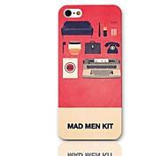 Mad Man Kit modello Hard Case con 3 Paia protezioni per iPhone 5/5S