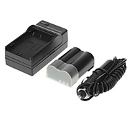 ismartdigi 1650mAh Camera Battery+Car Charger for OLYMPUS E500 E510 E520 E-3 E-30 E30