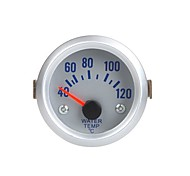 Water Temperature Meter Gauge with Sensor for Auto Car 2 52mm 40~120Celsius Degree Orange Light