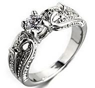 Wedding Style Fashion Silver Ring(Random Size)