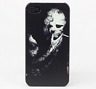 Smoking Skull Protective Back Case for iPhone 4/4S