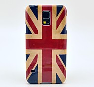 Retro UK National Flag Pattern Hard Case Cover for Samsung Galaxy S5 I9600