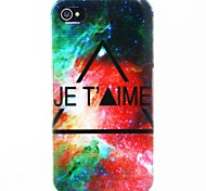 Jet Time Stars Hard PC Case for iPhone 4/4S