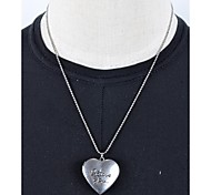 1PC amor del vintage I Usted Locket Necklace