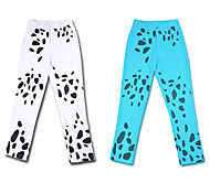 Inspired by One Piece Trafalgar Law Anime Cosplay Costumes Cosplay Tops/Bottoms Animal Print White / Blue Pants