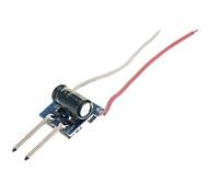 MR16 1 * 1W 320 ~ 350mA corrente costante LED Driver regolamentata (8 ~ 30V Input)