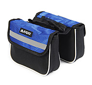FJQXZ Ourdoor Multifunctional Expansible Waterproof Blue Bicycle Saddle Bag