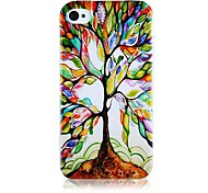 Tree of Restoration Pattern Silicone Soft Case for iPhone5/5S