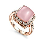Classic Lady's 4 Claws Opal Stone Party Ring