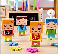 Cartoon Boy Design Eraser & Pencil Sharpener