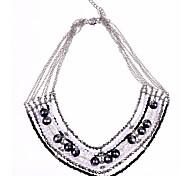7 righe in rilievo della collana