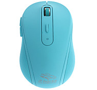 USB Wireless 2.4G Silent Operates Optical Mouse (Assorted Colors)