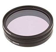 CPL + UV + Filtro FLD Ajuste para la cámara con filtro de bolsa (52 mm)