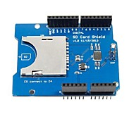 CATALEX SD / TF Card Shield Expansion Board  for (For Arduino) (Works with Official (For Arduino) Boards)