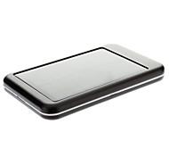 5000mAh Solar External Battery Black for Mobile Device