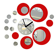 "18"" Modern Style Mirror Fashion Wall Clock"