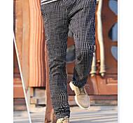 Men's Casual Sweatpants,Cotton Blend Black