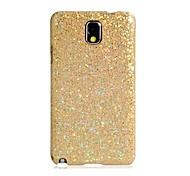 Glitter Skinning caja de plástico para Samsung Galaxy Note N9005 3