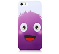 Purple Cartoon Beast Silicone Soft Case for iPhone 5/5S