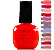 Super Girl Великолепная замочить от УФ цветной гель № 49-60 (1шт 7 мл, разных цветов)