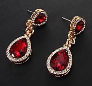 Earring Drop Earrings Jewelry Women Party / Daily / Casual Alloy Gold
