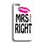 Elonbo J2M Pretty Lovers Paar Leuke Hard Case Cover voor iPhone 4/4S