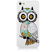 Owl Pattern Silicone Soft Case for iPhone5/5S
