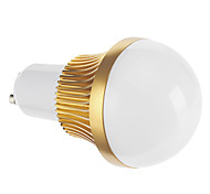 GU10 3W COB 128 LM Warm White LED Globe Bulbs AC 85-265 V