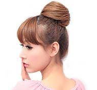 Резиновая лента вязаные Синтетические Расширения прямые волосы Светло-золотисто-коричневый