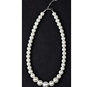 1PC Classic White Pearl Necklace