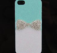 For iPhone 5 Case Rhinestone Case Back Cover Case Glitter Shine Hard PC iPhone SE/5s/5