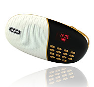 Soopen Q17 Portable Mini Speaker with FM/TF/Display Screen