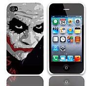 Caso JOKER disegno duro con 3 Paia protezioni per iPhone 4/4S