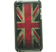 Retro UK Flag Pattern Hard Case for iPod touch 4