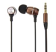 MJ100 stéréo écouteurs intra-auriculaires (couleur assortie) pour iPhone6 / iPhone6 ainsi