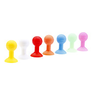 100 Pieces Packed Silicone Stand Holder with Suction Cup for iPhone and Others (Random Color)