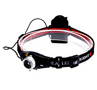 TK37 Adjustable Focus 3-Mode 1xCree XR-E Q5 Waterproof Headlamps(3xAAA,350LM)Silver