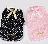 Dog T-Shirt - S / M / L / XL / XXL - Summer - Black / Pink - Cosplay - Cotton