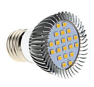 5W E26/E27 LED a pannocchia MR16 20 SMD 2835 370-430 lm Bianco caldo AC 220-240 V