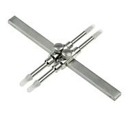 Stainless Steel Lens Spanner Wrench 8-130mm Lens Range Repair Tools for SLR DSLR lens -Silver