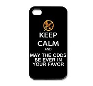 The Hunger Games Pattern Plastic Hard Case for iPhone 4/4S