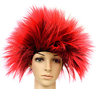 The Hedgehog Shape Synthetic Wig Mixed Colors Multiple Colors Available